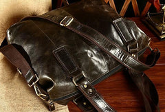Cool Mens Leather Handbag Messenger Bag Cross Body Bags For Men