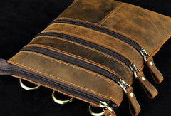 Leather Waist Bag Belt Pouch for men BELT BAG Shoulder Bag For Men