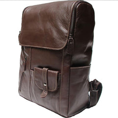 Leather Mens Backpacks Cool Travel Backpacks Laptop Backpack for men