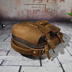 Small Leather Handbag Belt Pouch for men Waist Bag BELT BAG Shoulder Bag For Men