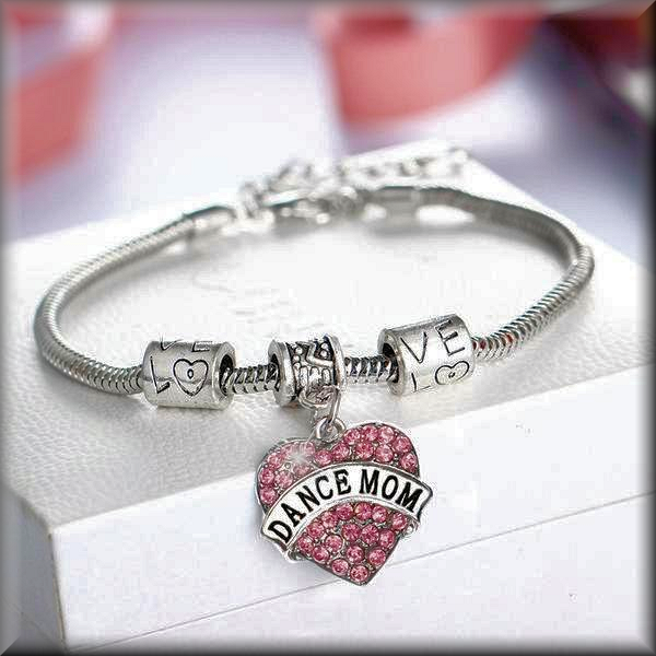 Dance Mom Charm Bracelet - DeltaDancewear