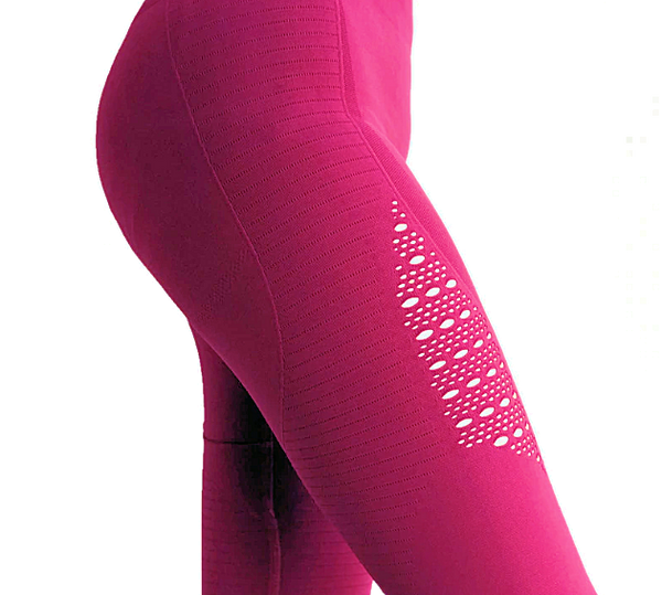 High Waist Yoga Pants - DeltaDancewear