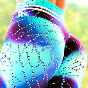 Water Web Droplets 3D Print Leggings