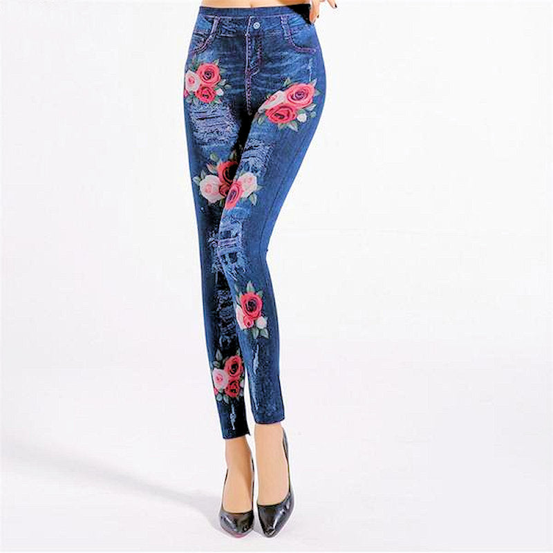 Somewhere In The Garden Jean-ish Leggings