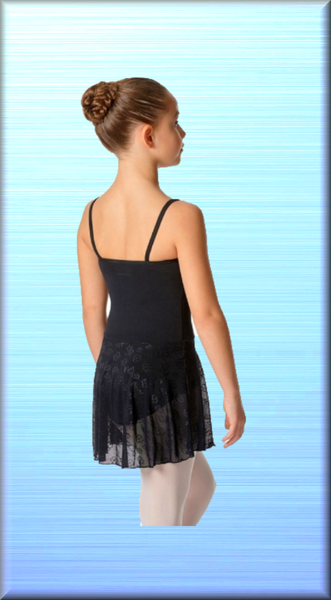 Lovely Erin Camisole Leotard Dress for Girls - DeltaDancewear