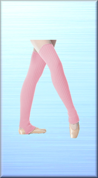 Stirrup Leg Warmers 90cm - DeltaDancewear