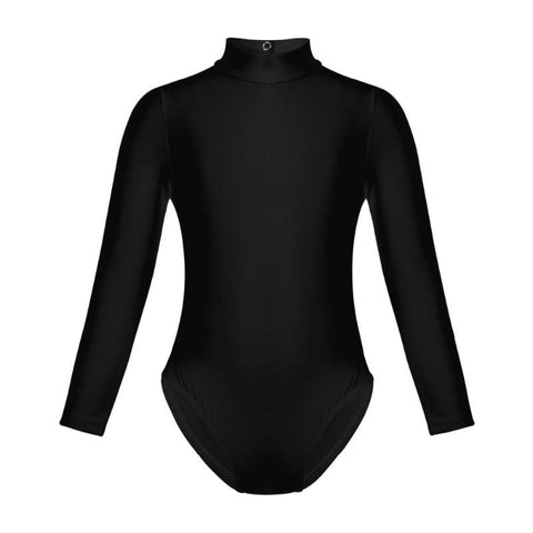 Kid's Classic Long Sleeve Unitard - DeltaDancewear