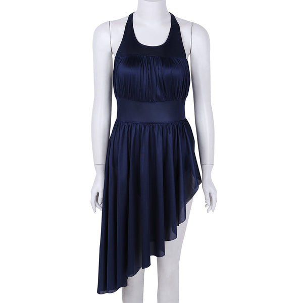 Center Stage Ruched Asymmetrical Dancewear