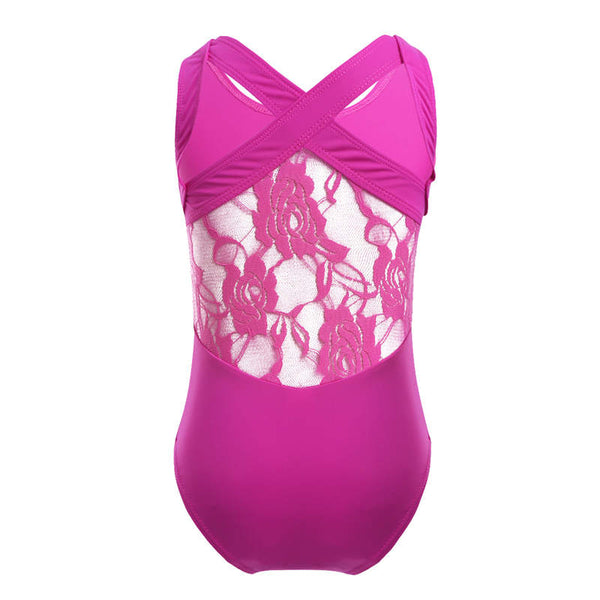 Lace Promenade Ballet And Gymnastics Leotard - DeltaDancewear