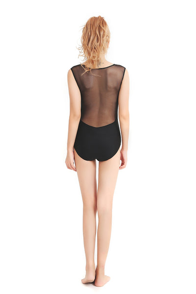 Barely There Mesh Dancewear Leotards