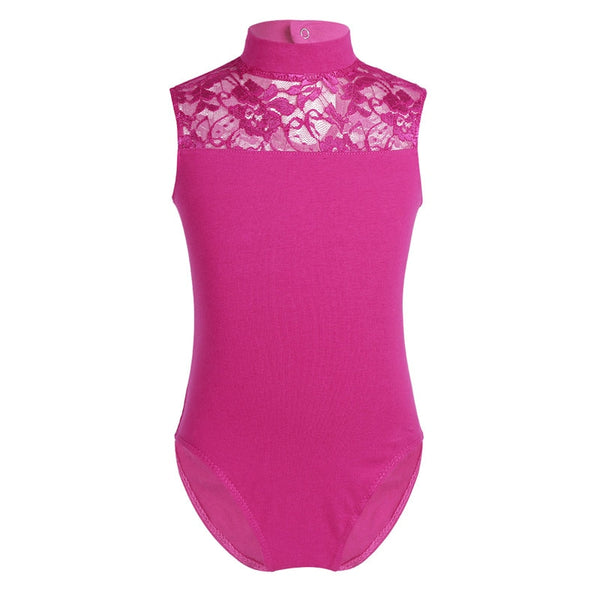 Sweet Ballerina Performance Mesh Halter Leotard - DeltaDancewear