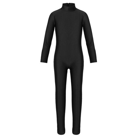 Kid's Long Sleeved Full Unitard - DeltaDancewear