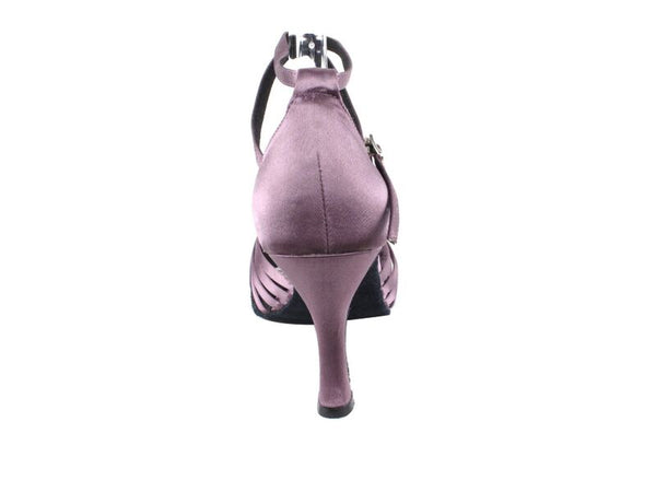Satin Lavender Dance Shoes - DeltaDancewear