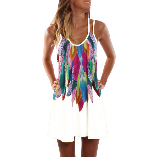 Feather Weather Mini Sundress - DeltaDancewear