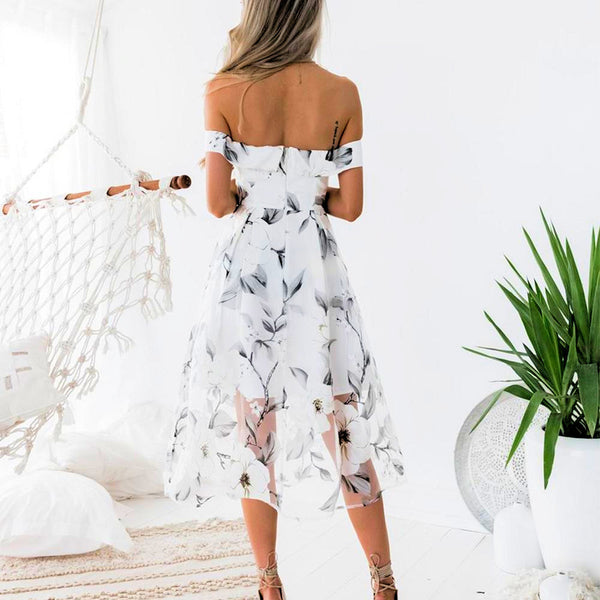 One Sweet Day Cold Shoulder Maxi Dress