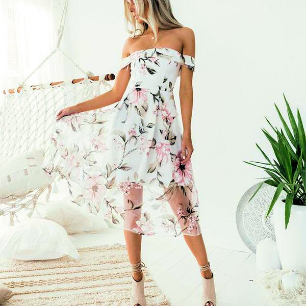 One Sweet Day Cold Shoulder Maxi Dress - DeltaDancewear