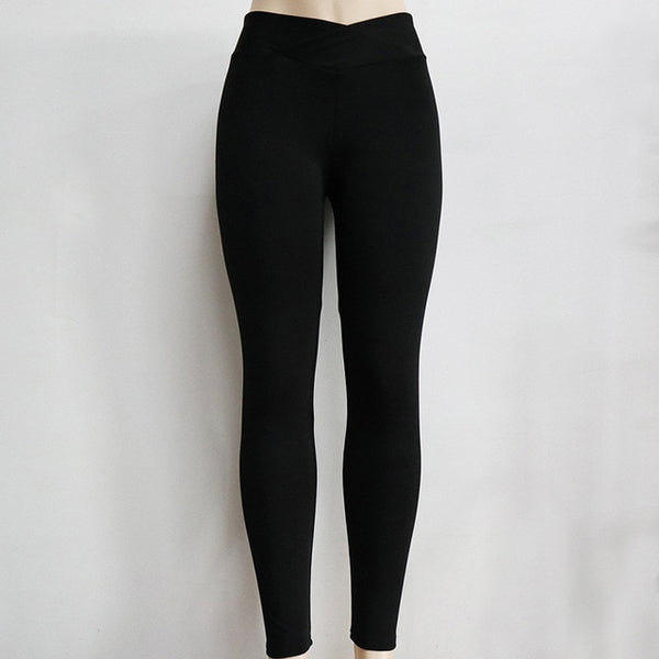 Knockout High Waist Women Yoga Pants