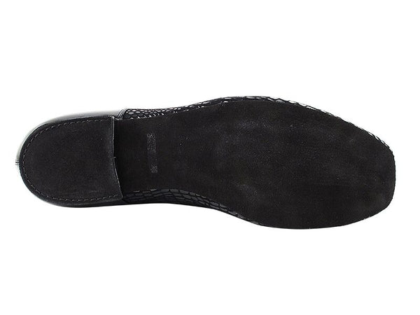 Black Debonair Patent Dance Shoes - DeltaDancewear