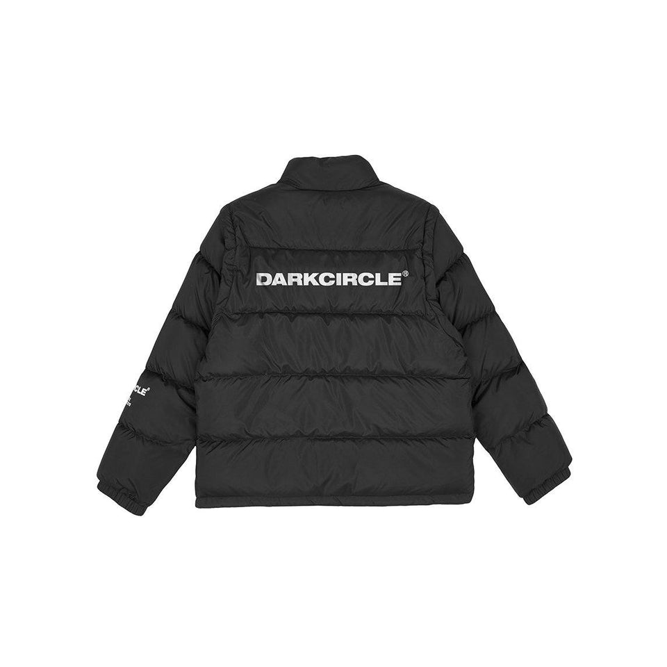 4WAY - Down Jacket / Slogan Side Outerwear Dark Circle Clothing