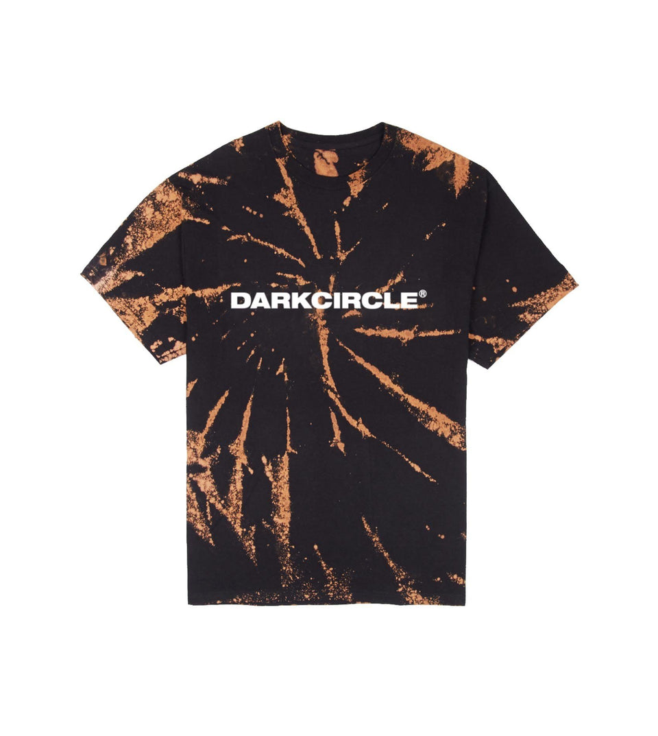 BLEACHED T-Shirt Black T-shirt Dark Circle Clothing