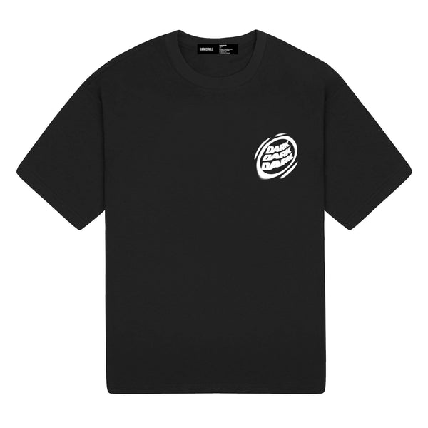 Blurred Lines - Black T-shirt DARKCIRCLE®