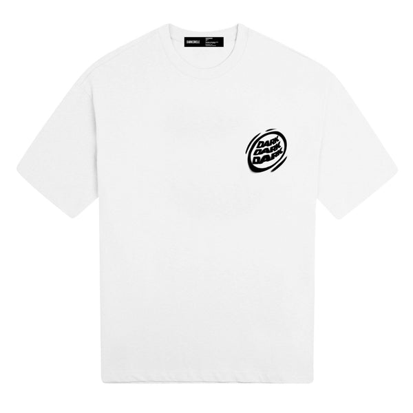 Blurred Lines - White T-shirt DARKCIRCLE®