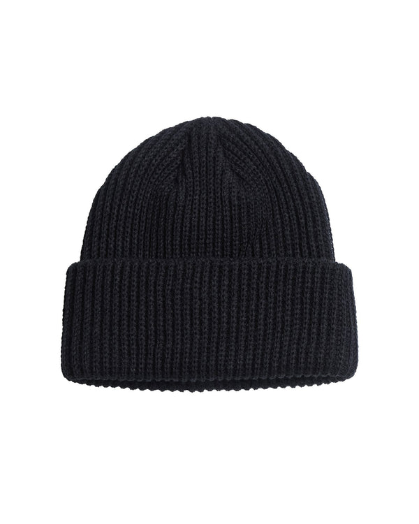Chunky Ovoid Beanie - Black Accessories DARKCIRCLE®