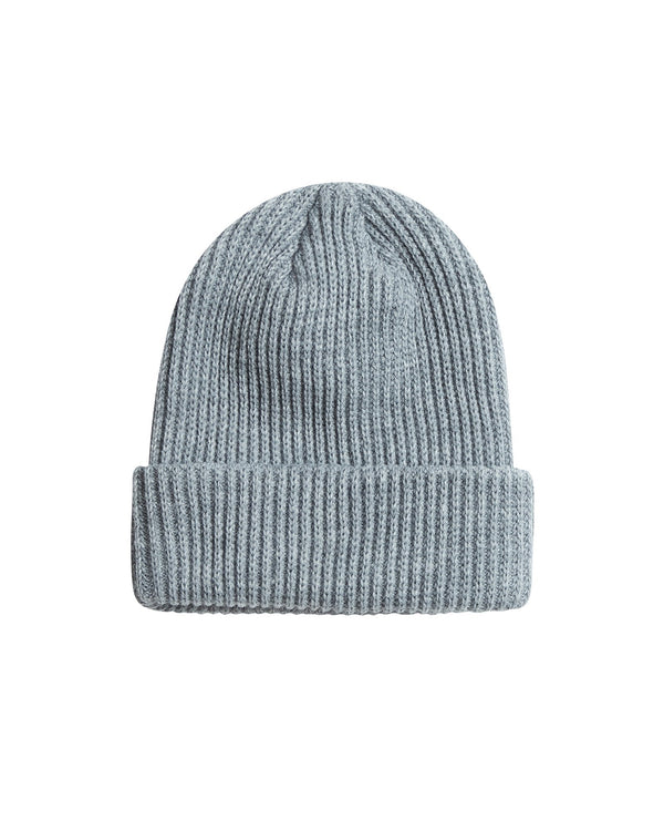 Chunky Ovoid Beanie - Grey Accessories DARKCIRCLE®