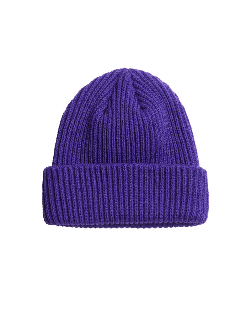 Chunky Ovoid Beanie - Purple Accessories DARKCIRCLE®