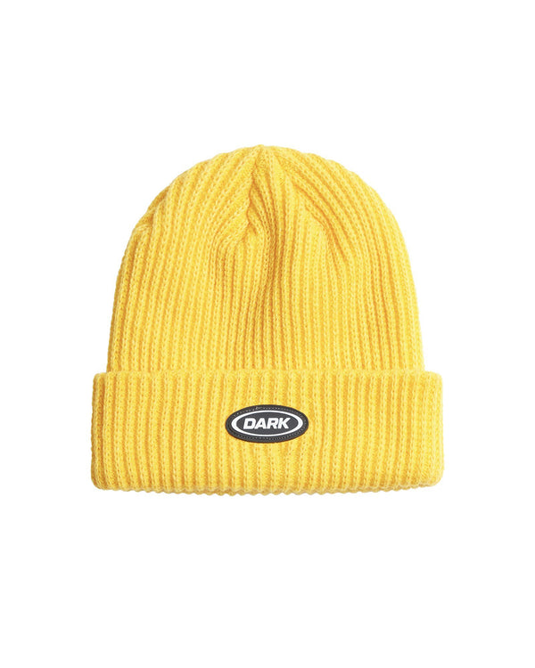 Chunky Ovoid Beanie - Yellow Accessories DARKCIRCLE®