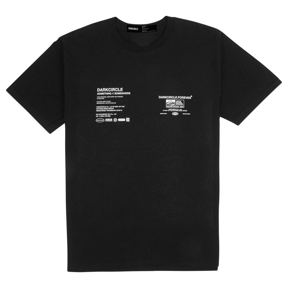 CONNECTED - Black T-shirt Dark Circle Clothing