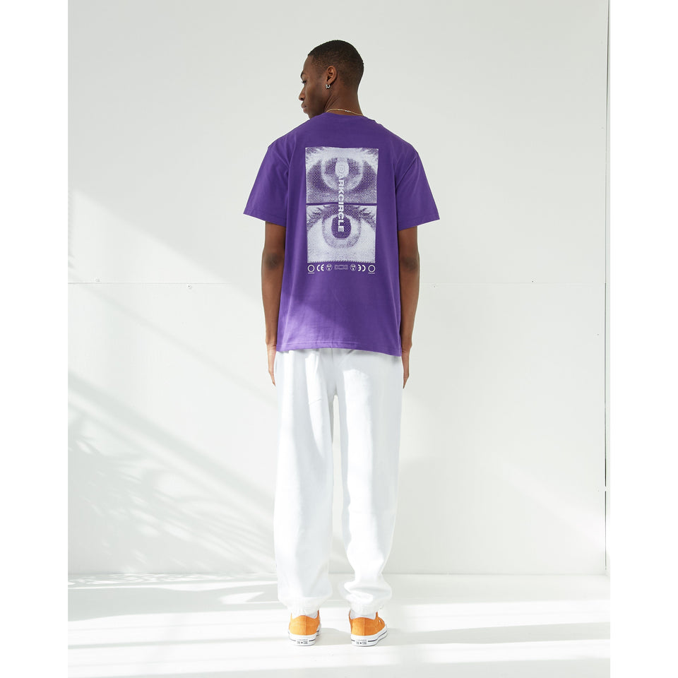 CONNECTED - Purple T-shirt Dark Circle Clothing