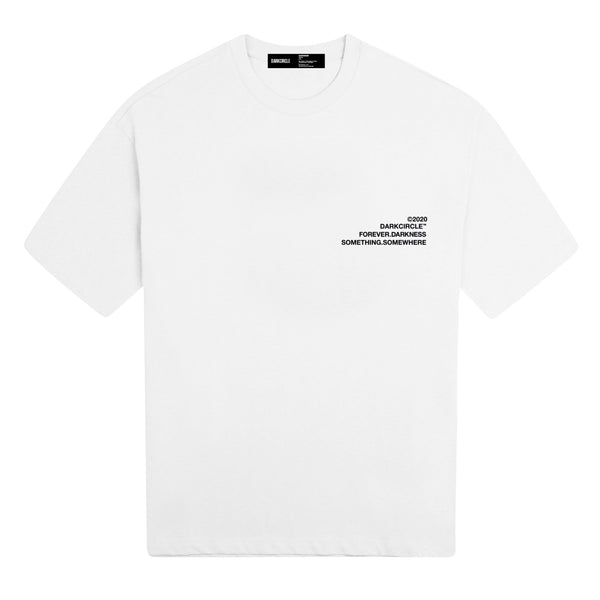 Control: Short Sleeve - White T-shirt DARKCIRCLE®