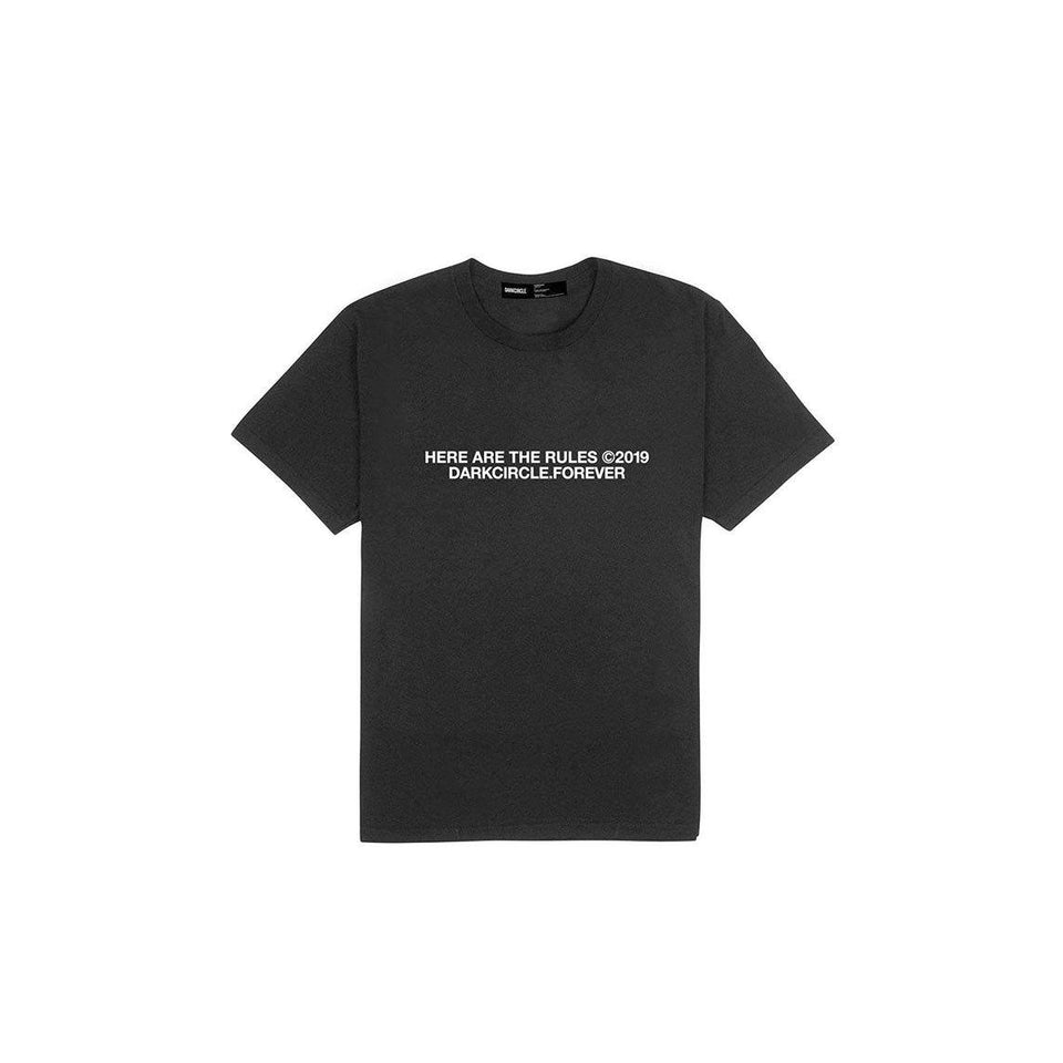 Crushed - Black T-shirt Dark Circle Clothing