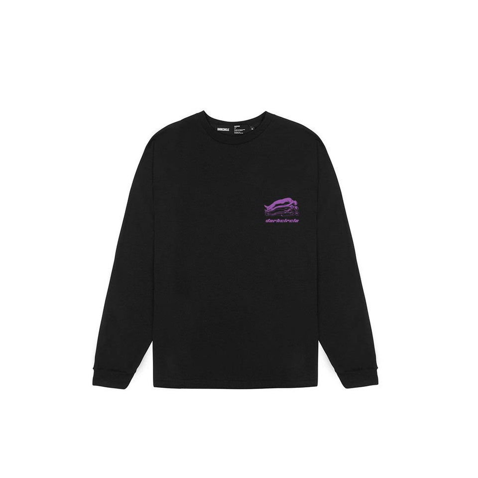 Dark Fantasy Long Sleeve - Black T-shirt DARKCIRCLE®