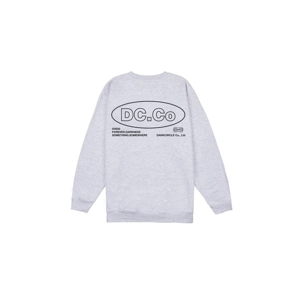 DC.Co Crewneck - Arctic Grey Sweatshirt DARKCIRCLE®