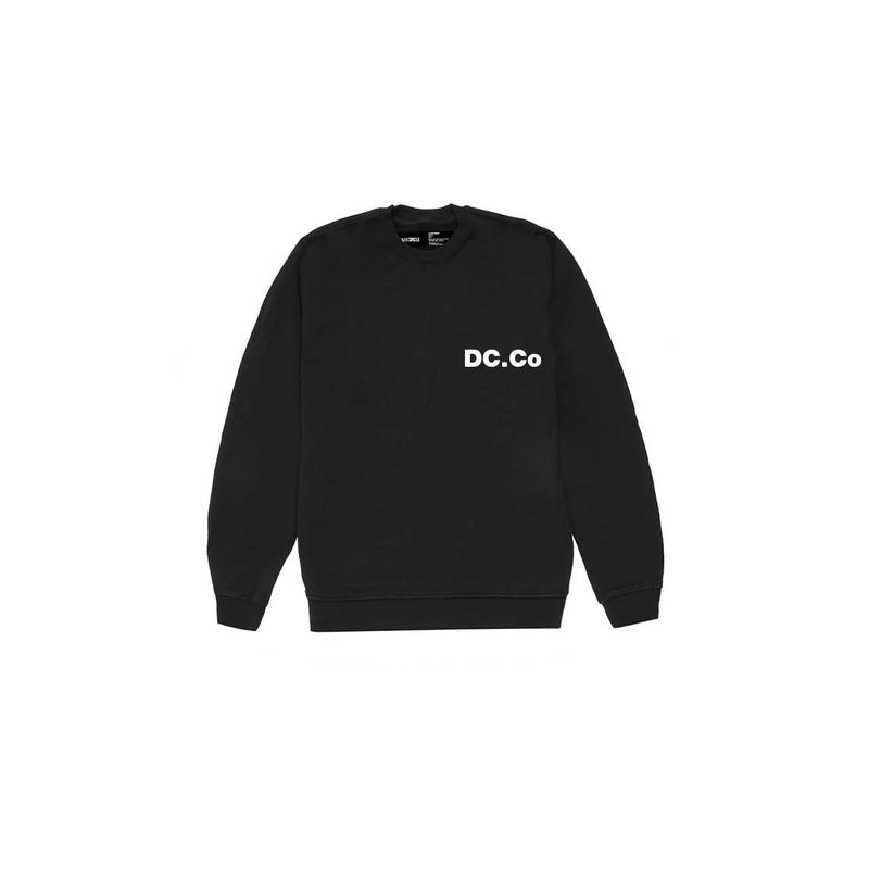 DC.Co Crewneck - Black Sweatshirt DARKCIRCLE®