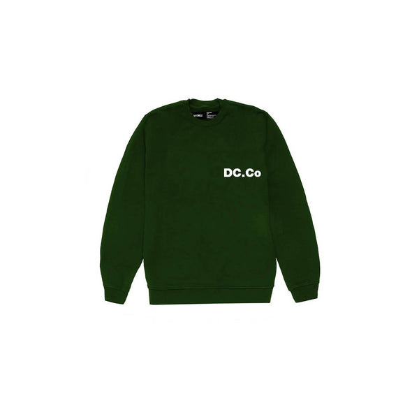 DC.Co Crewneck - British Green Sweatshirt DARKCIRCLE®