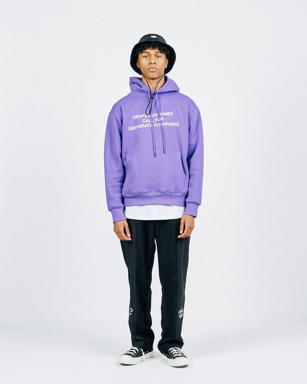 Desperate Time: Hoodie - Purple Hoodie DARKCIRCLE®