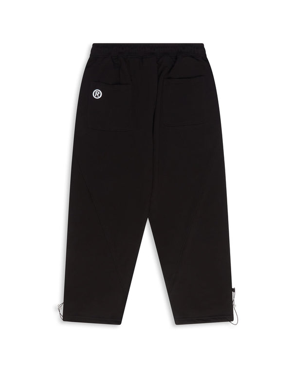 Diagonal Pants - Black Pants Dark Circle Clothing