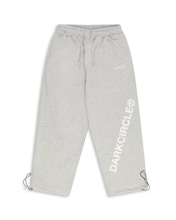 Diagonal Pants - Heather Grey Pants Dark Circle Clothing