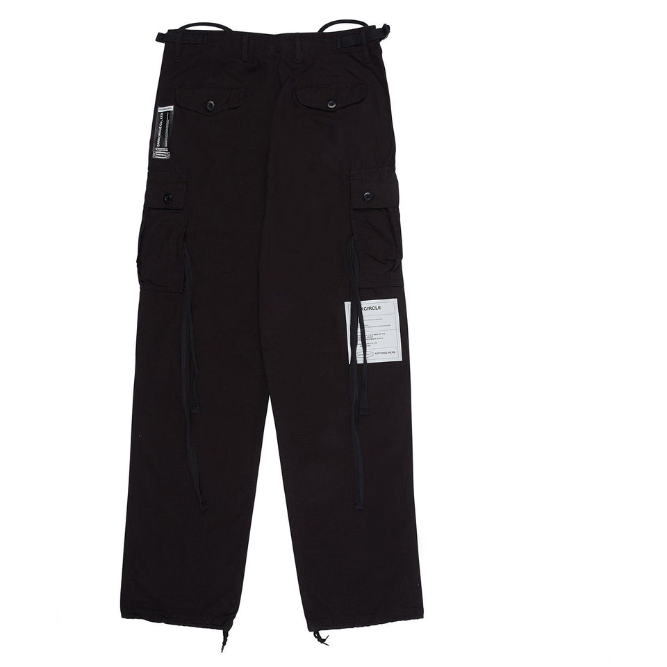 Drknss BDU Cargo Trousers - Black Pants Dark Circle Clothing