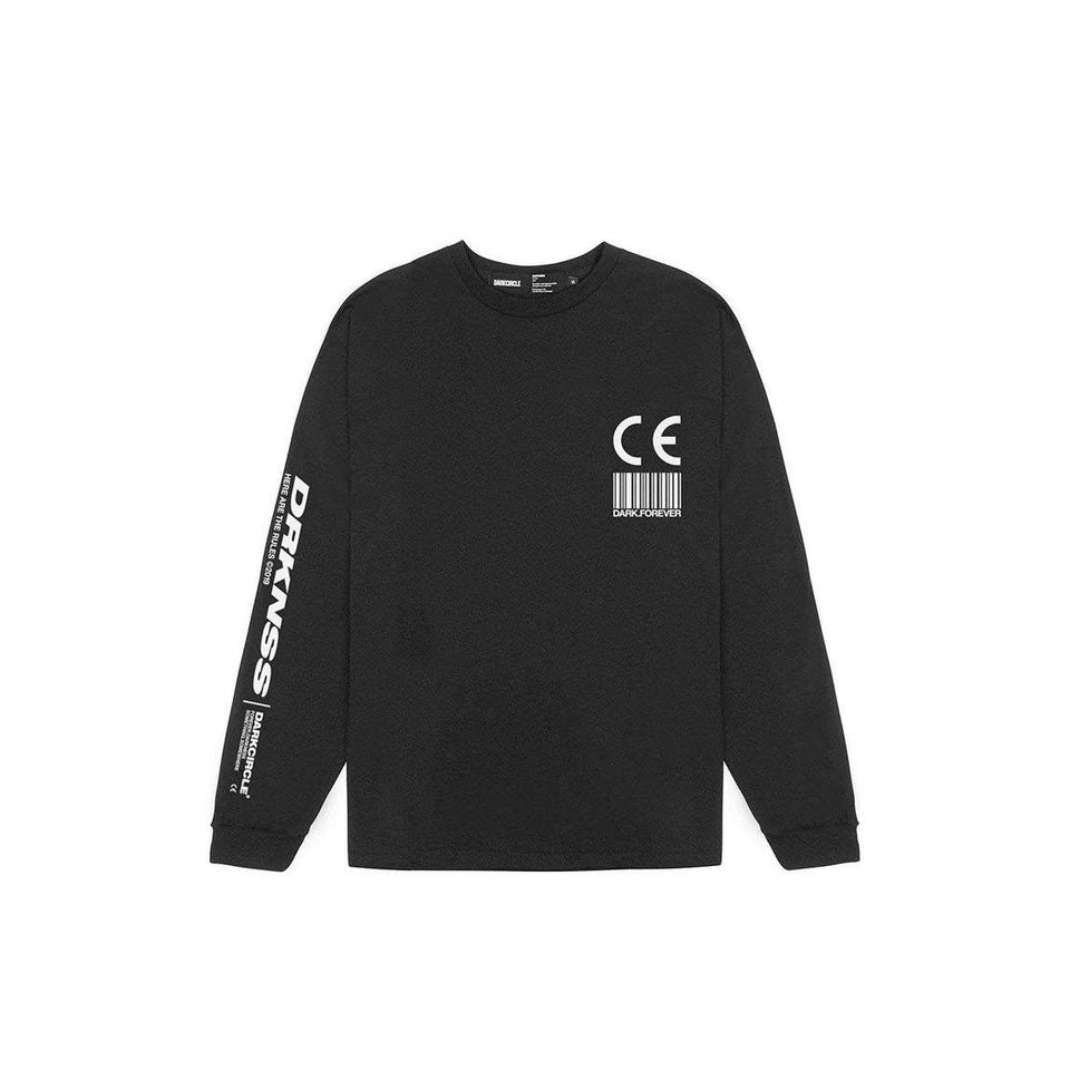 Export Goods L/S - Black T-shirt darkcircleclothing