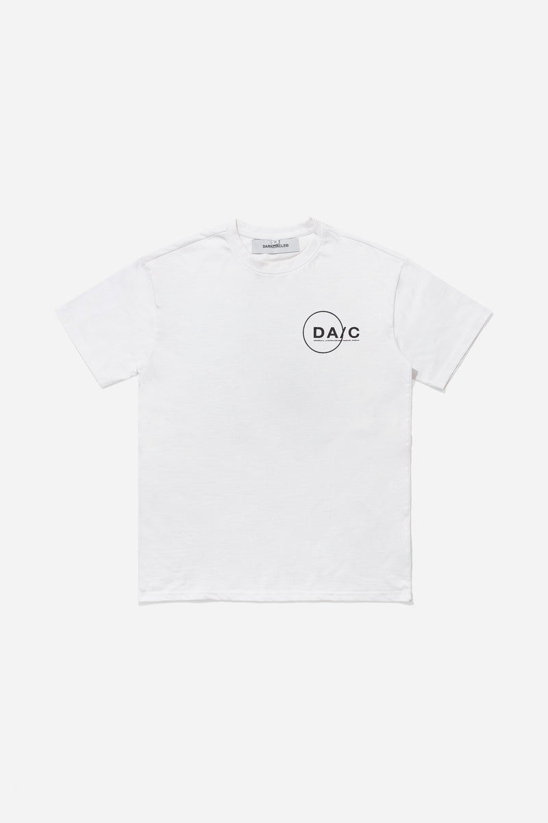 Forensic T-Shirt - White T-shirt Dark Circle Clothing
