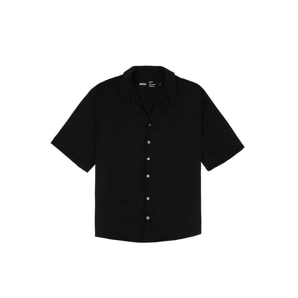 Forever Revere Collar Shirt - Black Cut & Sew Dark Circle Clothing