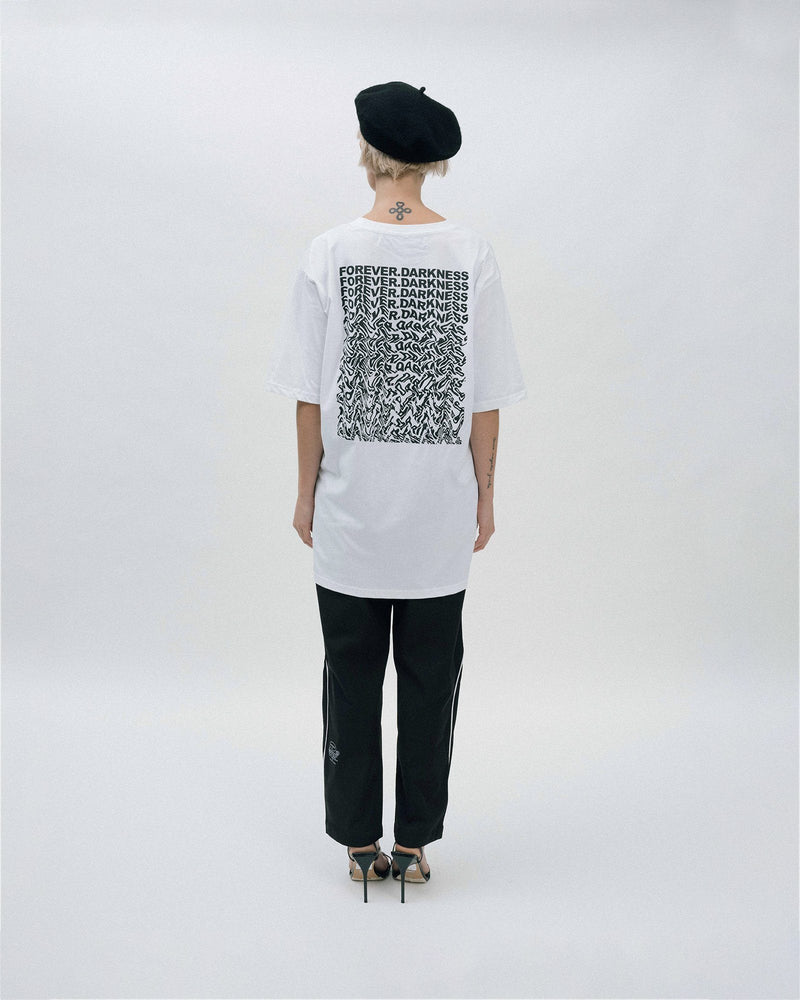 Forever.Falling T-Shirt - White T-shirt Dark Circle Clothing