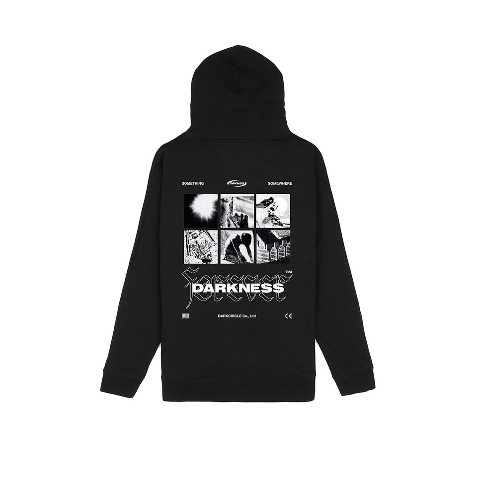 Foreverness - Hoodie Black Hoodie Dark Circle Clothing