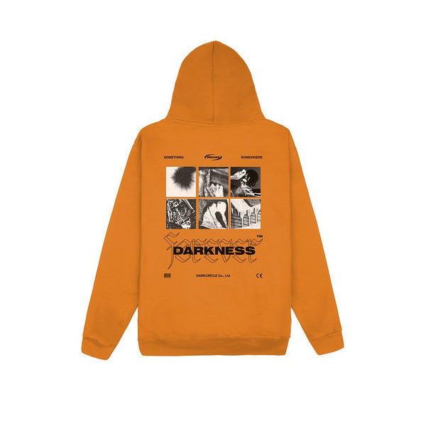 Foreverness - Hoodie Orange Hoodie Dark Circle Clothing
