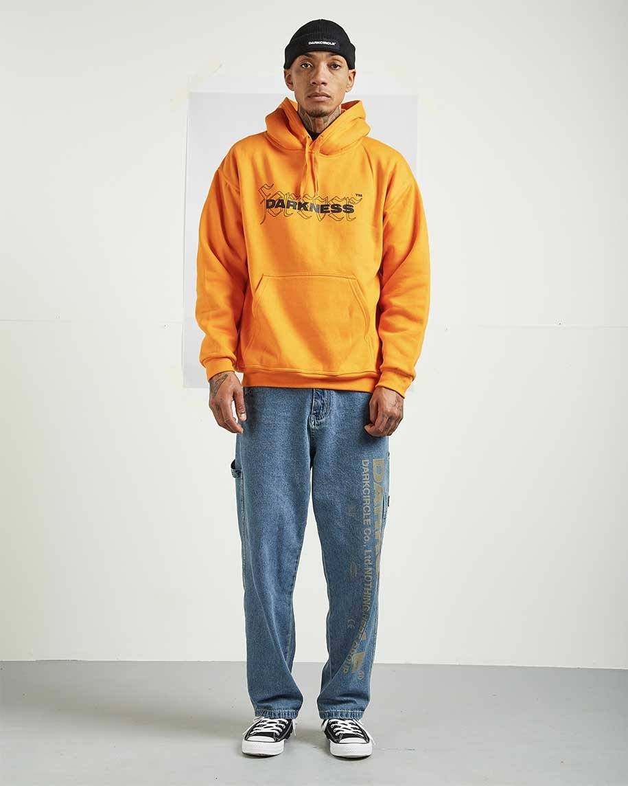 Foreverness Hoodie - Orange Hoodie Dark Circle Clothing