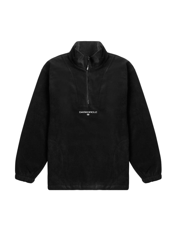 Heritage 1/4 Zip Fleece - Black Outerwear DARKCIRCLE®